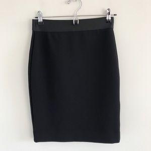 Everlane The Ponte Tube Skirt Black Small